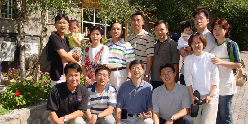 2002 - 우즈베키스탄<br> 우즈베키스탄 타쉬켄트에서... (2002.10.)