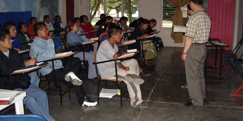 2003 - 멕시코<br> 멕시코 오하까 신학생 기도 세미나 인도 (2003. 5.13.)