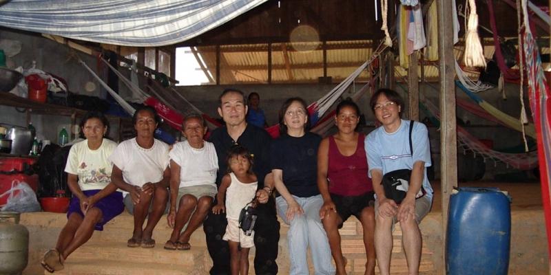 브라질 아마존 정글<br> 브라질 아마존 정글 현지인 가정