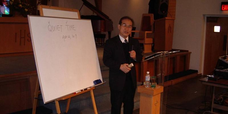 2003 - 미국 뉴저지<br> 미국 뉴저지 예본 교회 (이후석 목사) 기도 세미나 (2003.11.29.)